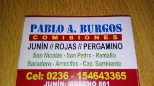Comisionista Pablo. Burgos